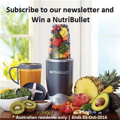 Win a NutriBullet | Subscribe and Win | Competition