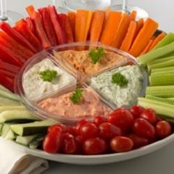 Veggie Dips Platter